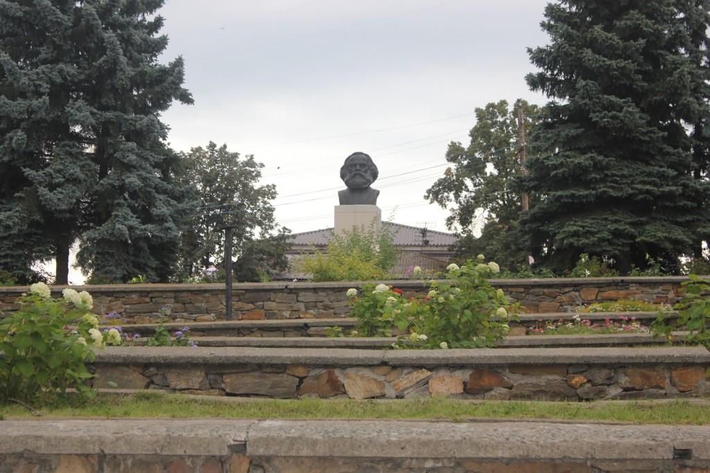 Памятник Марксу Кыштым