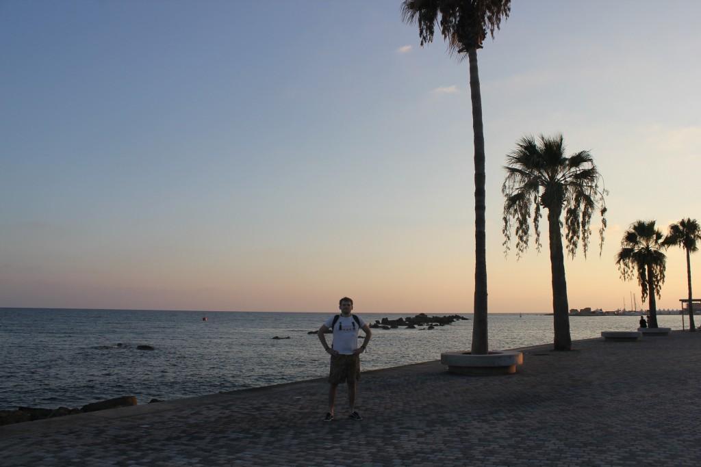 Пляжная зона Кипр